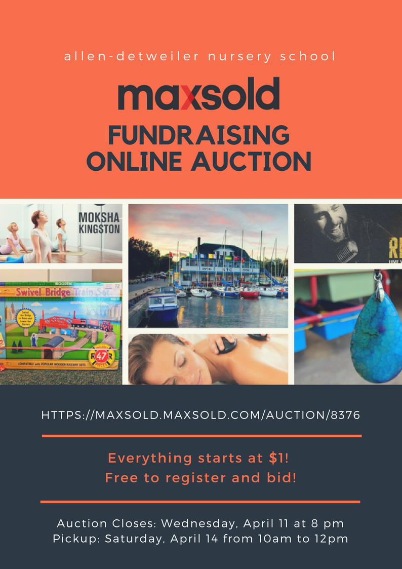 Maxsold Fundraiser Auction